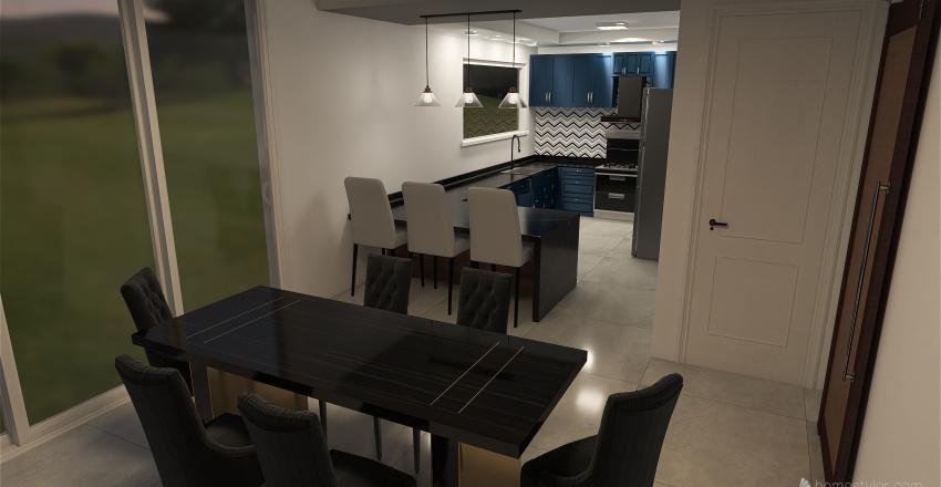 Casa Pierina Interior Design Render