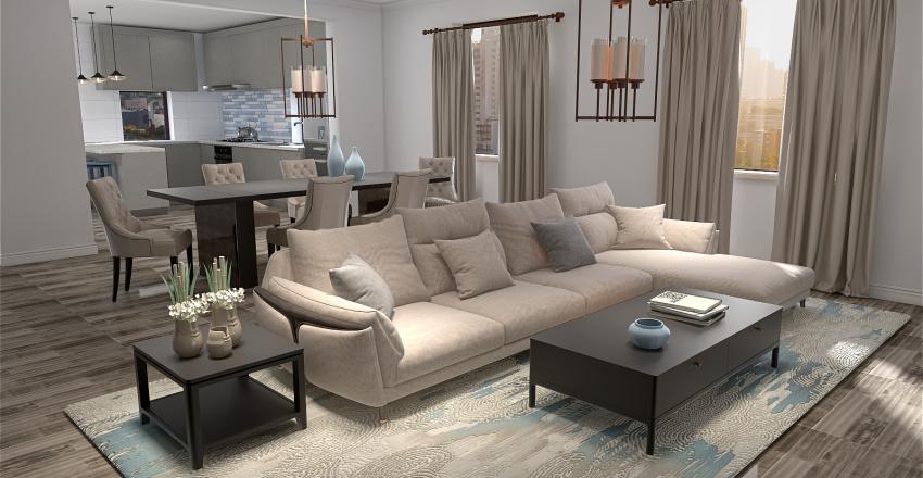 Module 4 Floor Plan Interior Design Render
