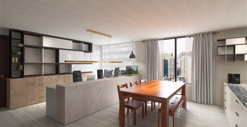 HOME0605 Interior Design Render