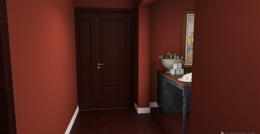Dark Lights Interior Design Render