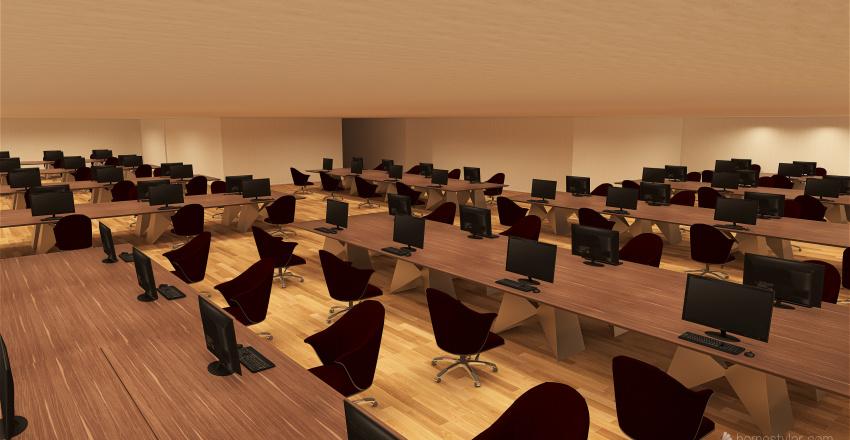 Projeto de Cabeamento e Infraestrutura Interior Design Render