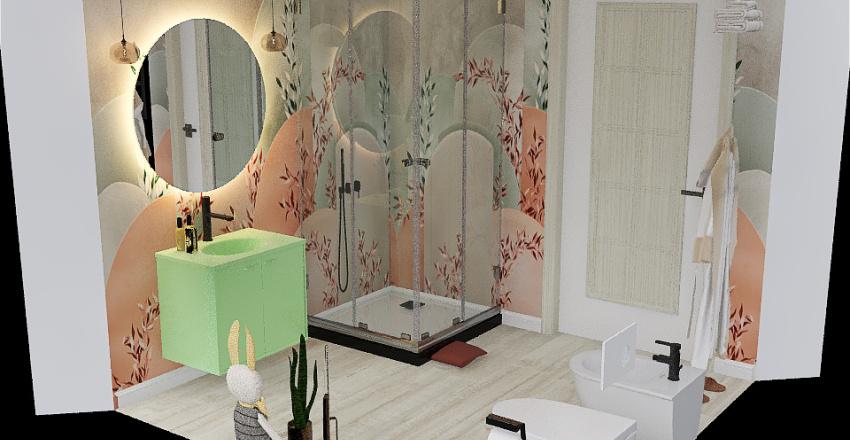 3D BAGNO PICCOLO BOTTI_LAURA_2 Interior Design Render