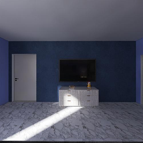 13 th 3d floor plan Interior Design Render