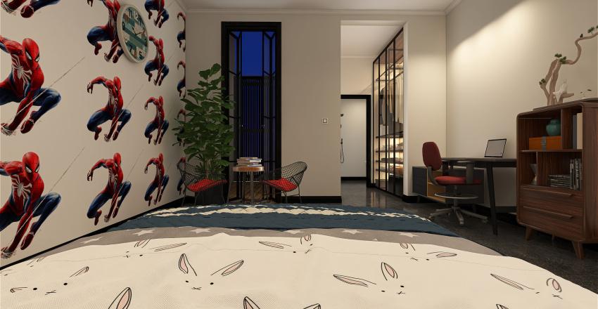 offical 2 floors of Final des - all open Interior Design Render