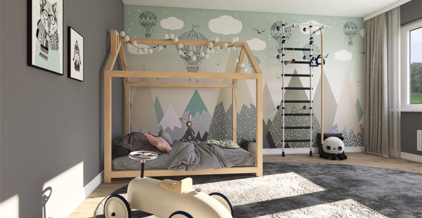 детская Interior Design Render