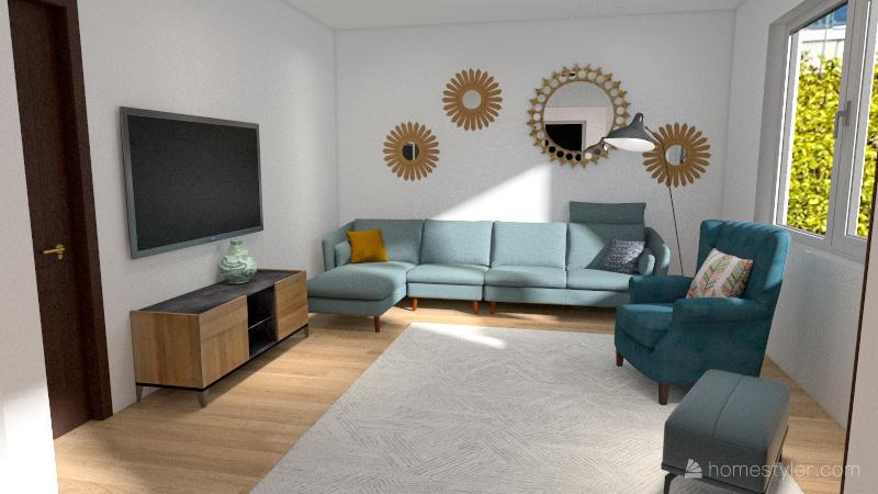 Houtaud Etage 2 Interior Design Render