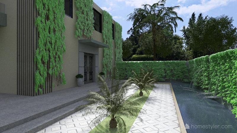 Mansion 01 Interior Design Render