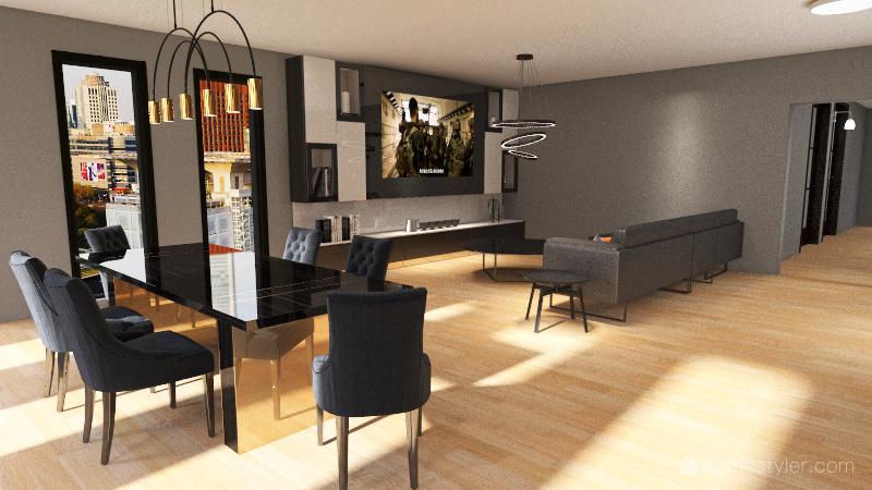 apartamento 2 Interior Design Render