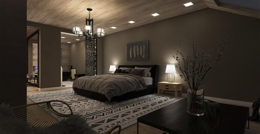 suite com closet Interior Design Render
