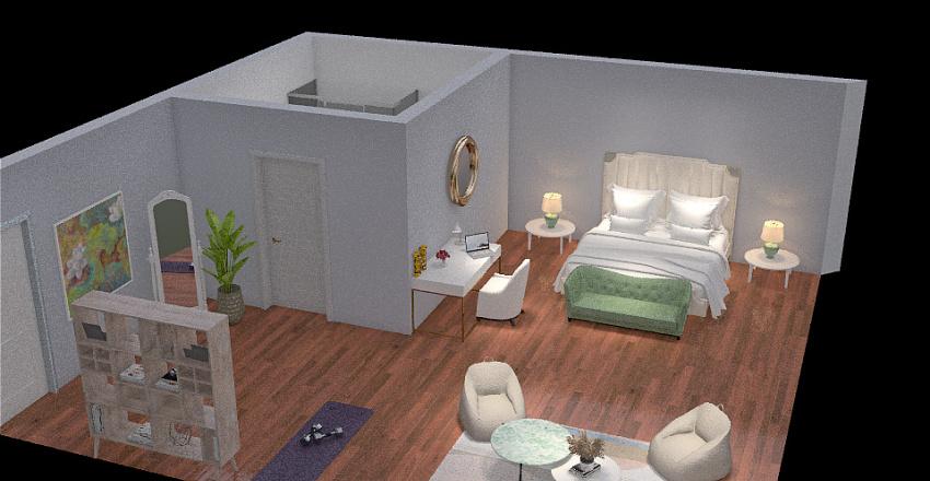 Copy of HABITACIÓN NATALIA Interior Design Render