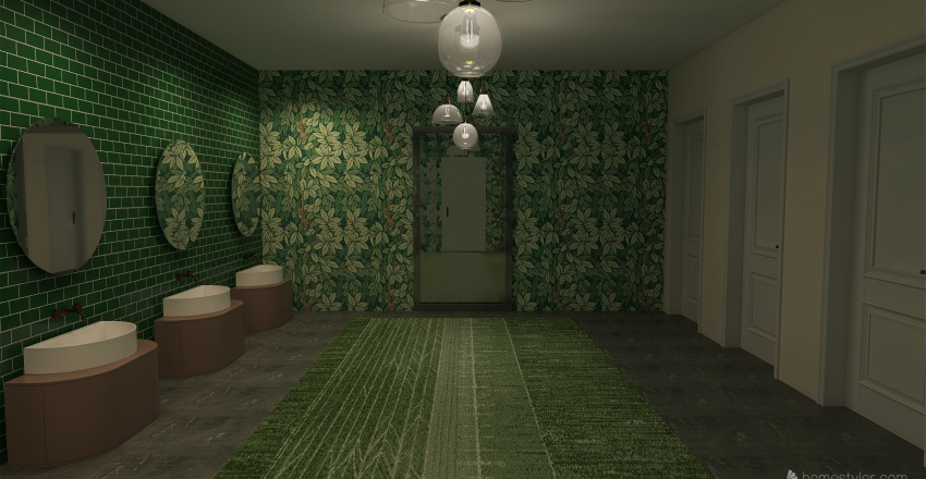 restaurant/bar Interior Design Render