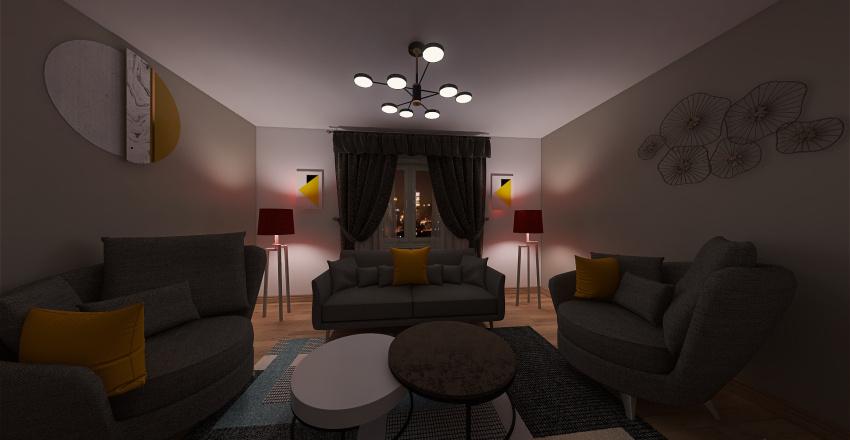 PROJET N1 Interior Design Render