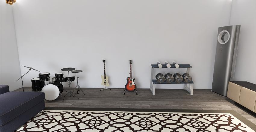 Rec room Interior Design Render
