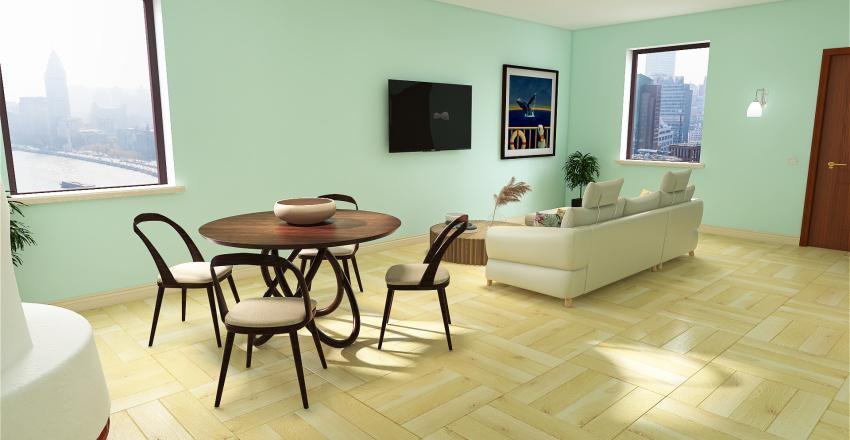 Mottinelli progetto casa ideale Interior Design Render