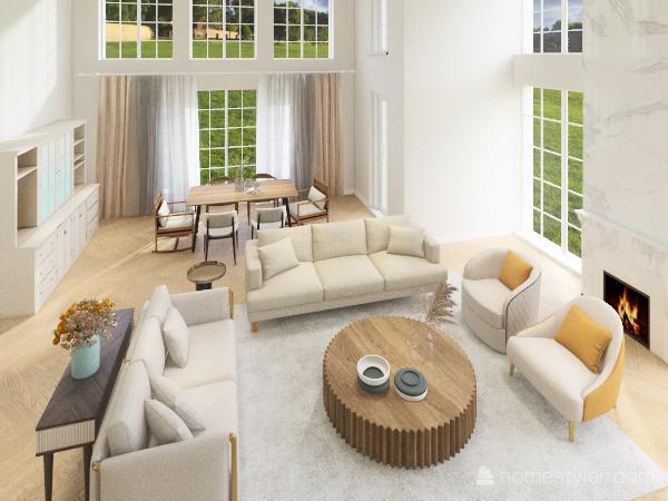 Дом И Interior Design Render