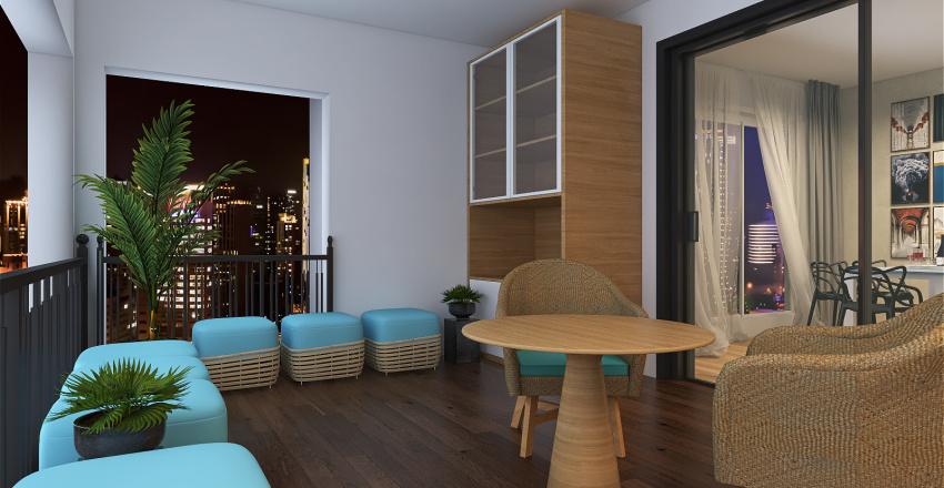 VARANDA GOUMERT  Interior Design Render