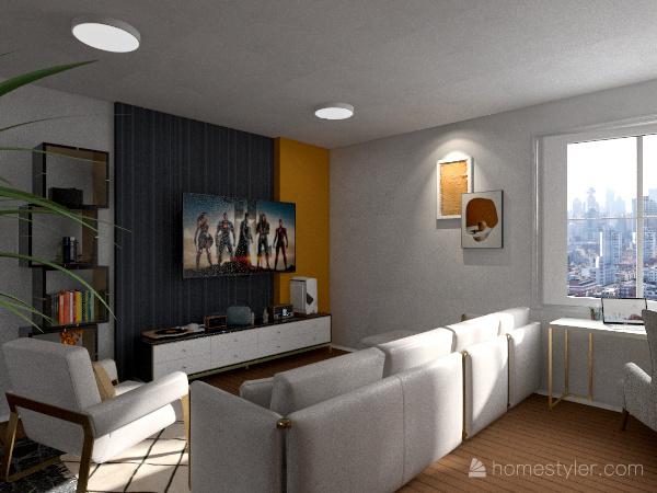 Proyecto diseñoA Interior Design Render