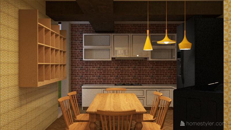 Tiny Little House 3.0 Interior Design Render
