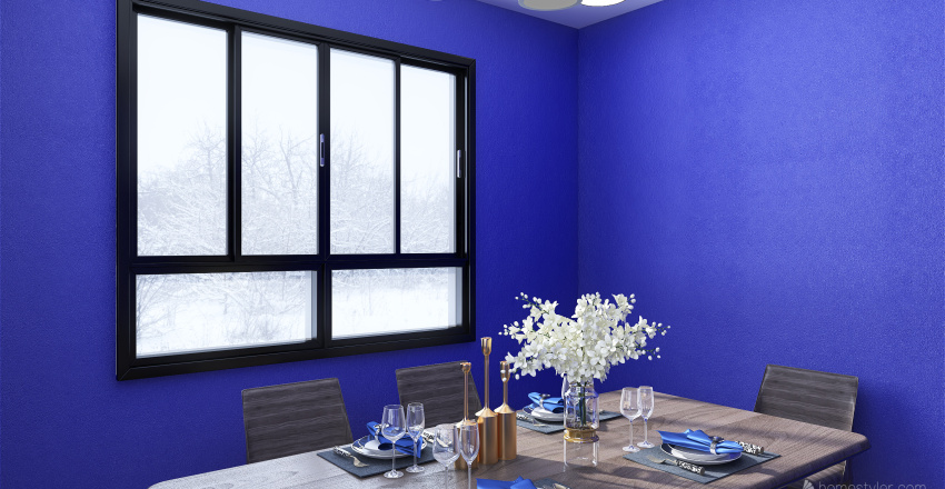 Tovar.E- Dining/Kitchen Interior Design Render