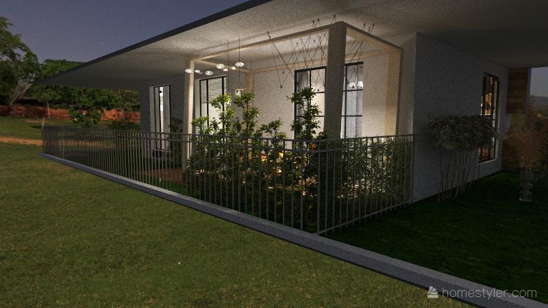 Update 22 Aug - Living, Terasse Interior Design Render