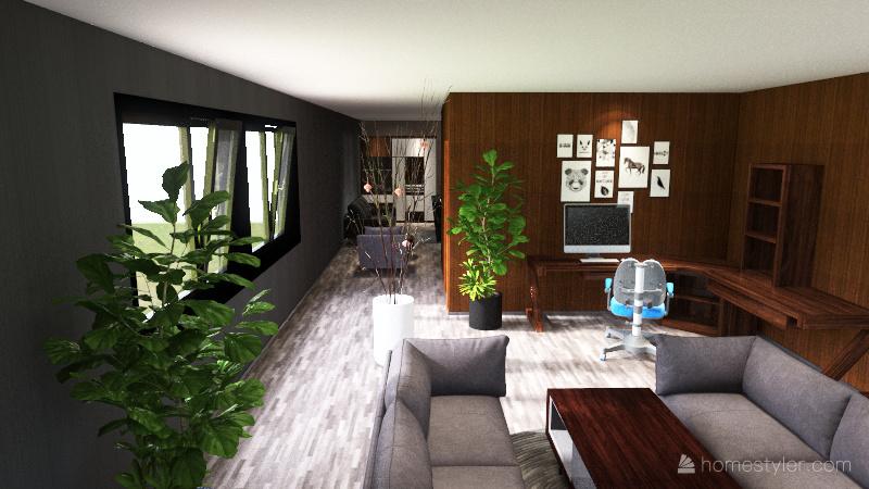 mansion de miau Interior Design Render