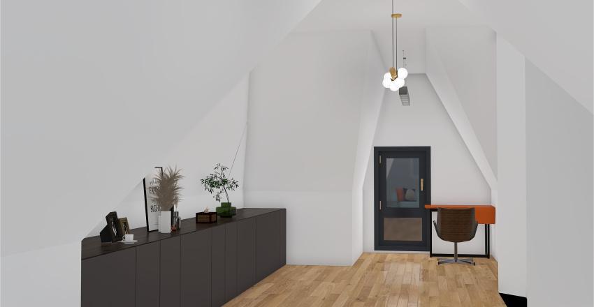 Mansarda2 Interior Design Render