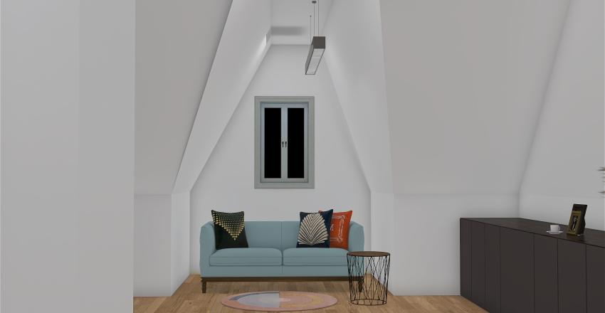 Mansarda1 Interior Design Render