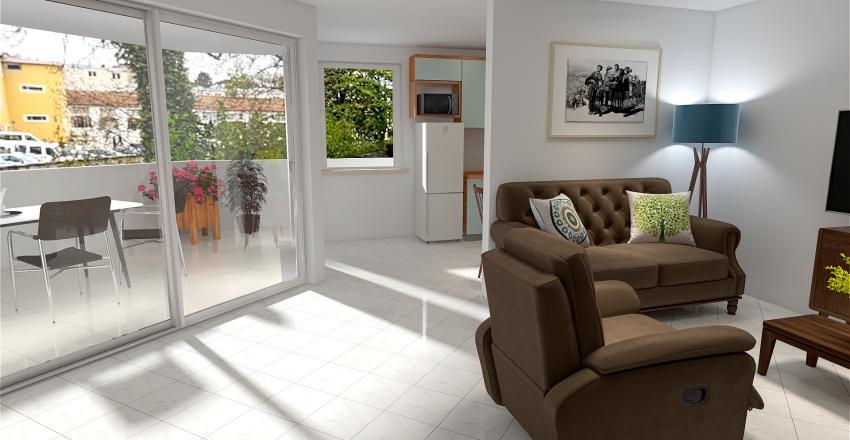 rue Doubs projet 2 Interior Design Render