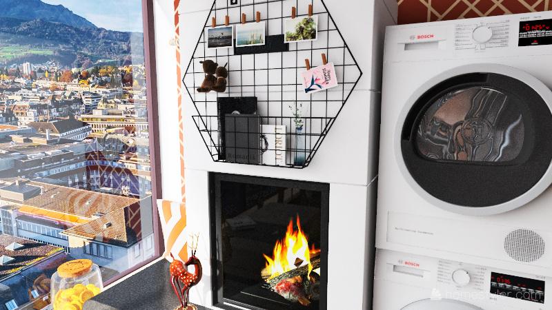 Modern Apartment Interior Design Render