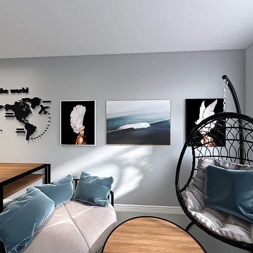 25.05 2 opcja pokoju Interior Design Render