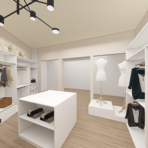Projeto Academia Interior Design Render