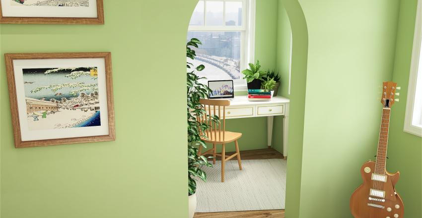 Simple dream room  Interior Design Render