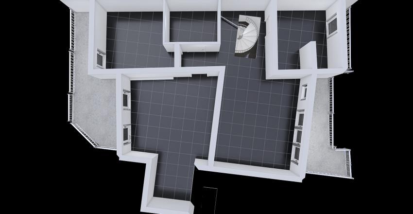 soluzione intera via Cassinari Interior Design Render