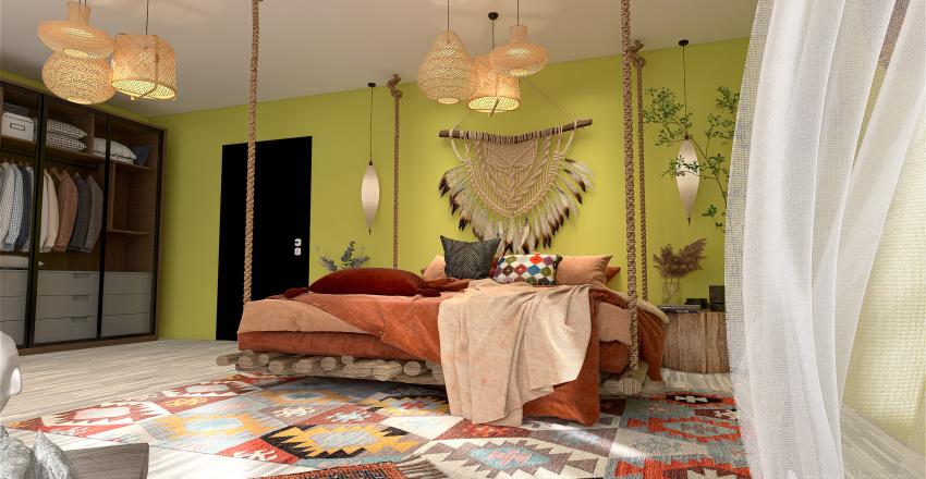 Apartamento de gran ciudad Interior Design Render