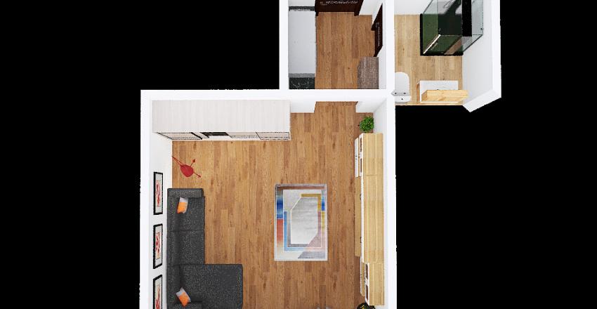 v2_Garzonka_Vilova Interior Design Render