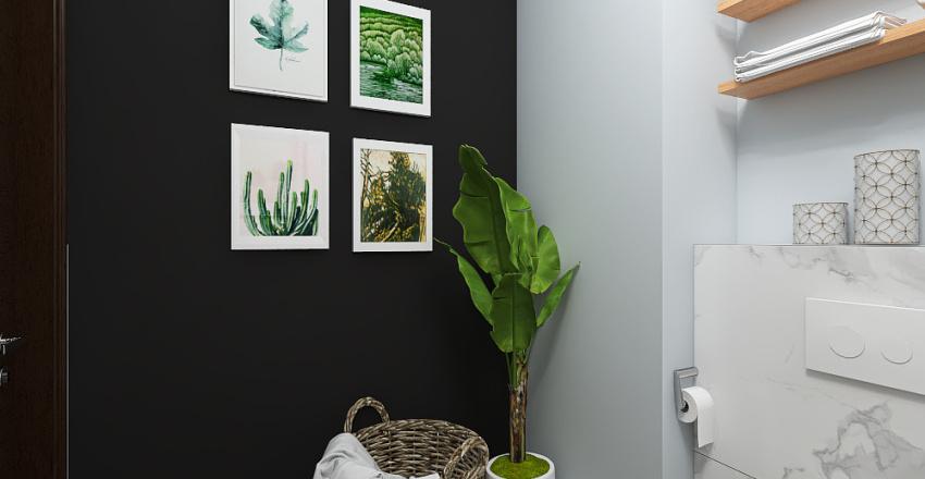 Łazienka pod wynajem -  Szwecja Interior Design Render