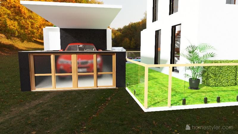 finca lujosa Interior Design Render