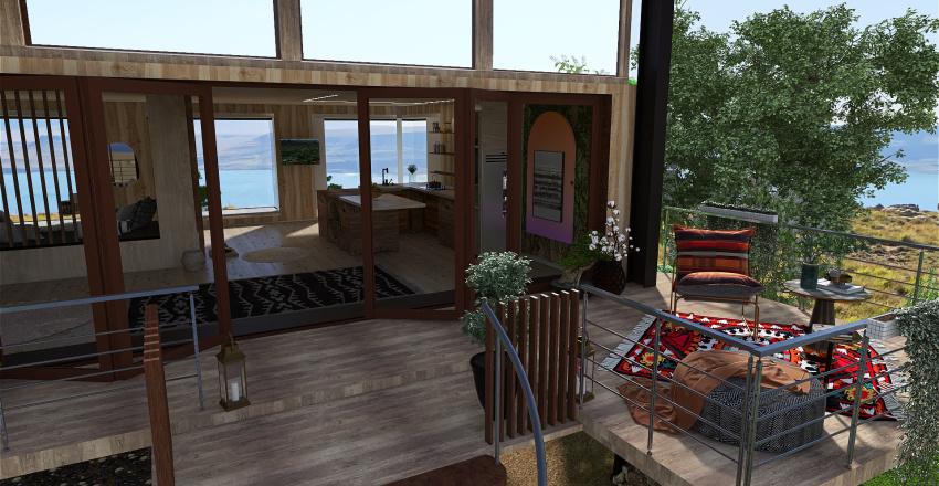 cabane Interior Design Render