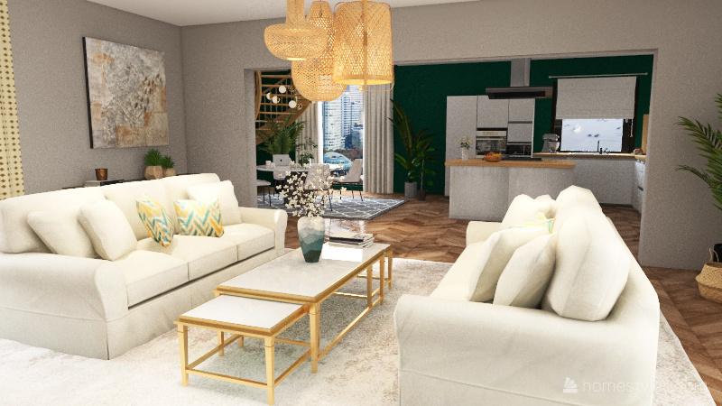 Dom marzen Interior Design Render