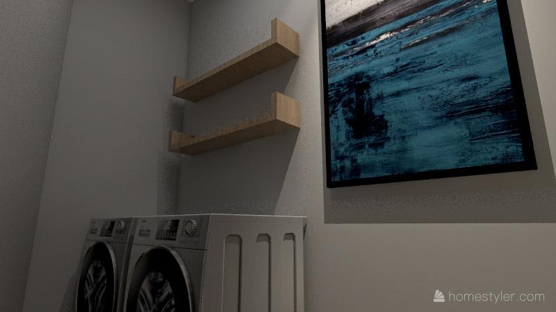 Custom Home Interior Design Render