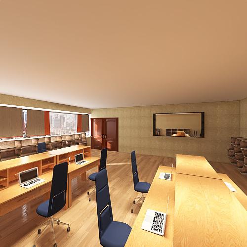 Oficina Dept Comercial Juarez Interior Design Render