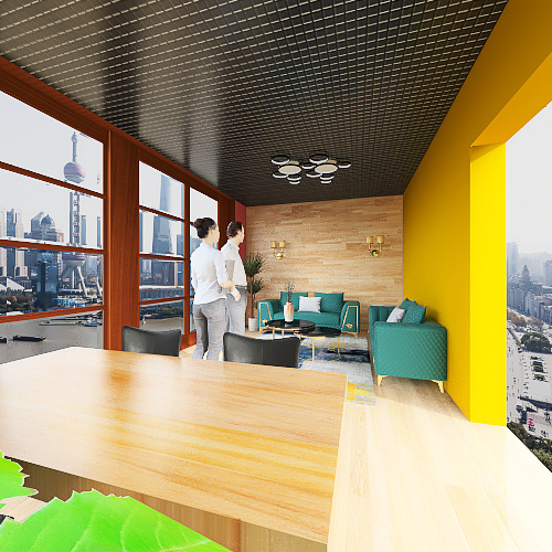 Planta ejemplo diplomado Interior Design Render
