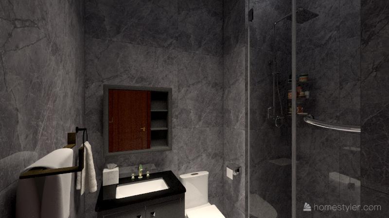 Copy of Grand Oasis 24B (2 rooms Interior Design Render