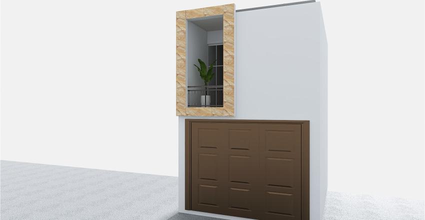 Fachada de una casa pequeña Interior Design Render
