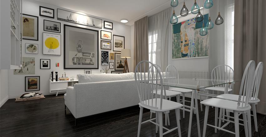 small apartment ideas Interior Design Render