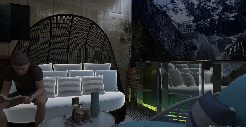 natureview1 Interior Design Render