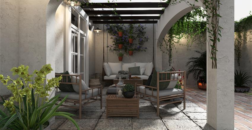 Cortijo Andaluz Interior Design Render