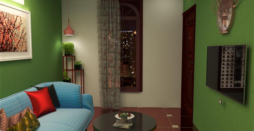 blossom with colours Interior Design Render