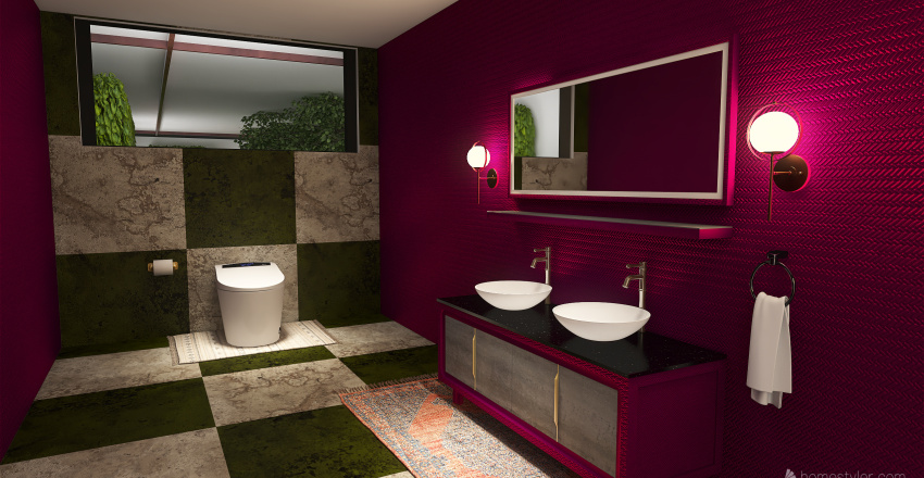 Bohemian Style Home Coming Soon!! Interior Design Render
