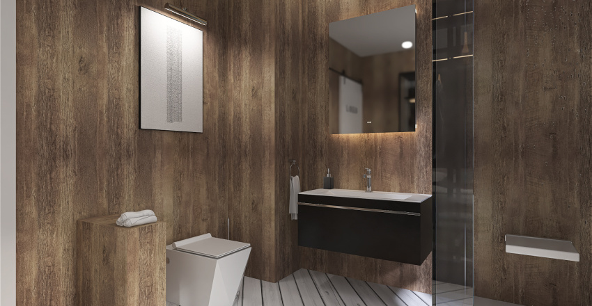 CubeFlat Interior Design Render